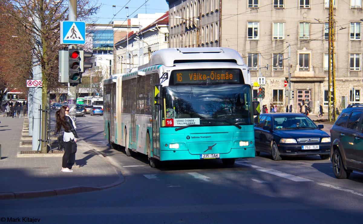Tallinn, Volvo 7500 № 2235