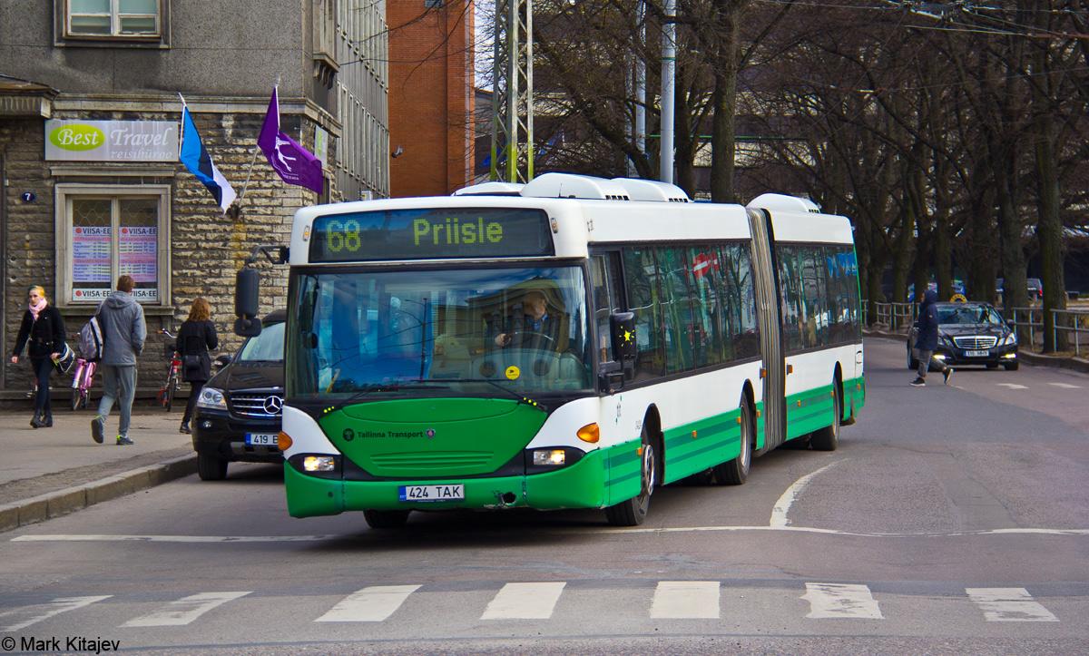 Tallinn, Scania OmniCity CN94UA 6X2 № 3424