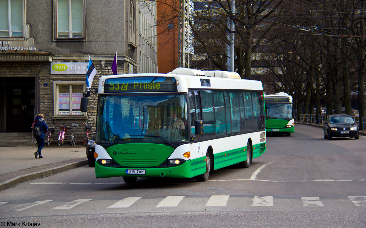 Tallinn, Scania OmniLink CL94UB № 3515