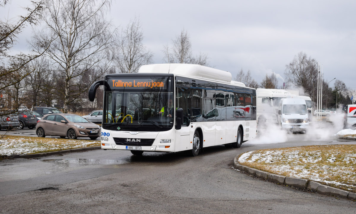 Tallinn, MAN A21 Lion's City NL313 CNG № 9