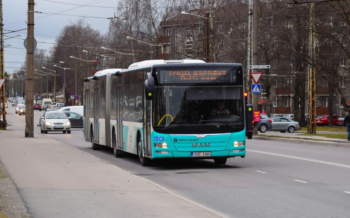 Tallinn, MAN A40 Lion's City GL NG323 № 1037