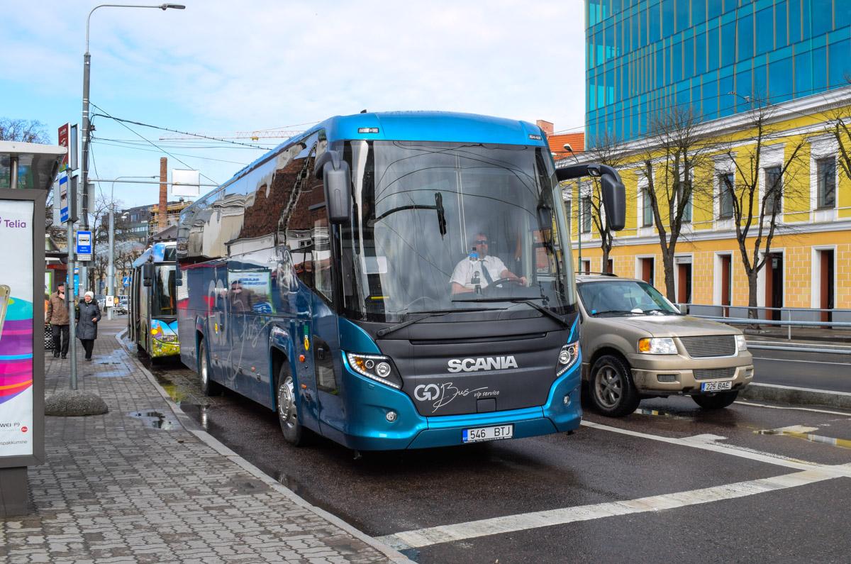 Tallinn, Scania Touring HD (Higer A80T) № 546 BTJ