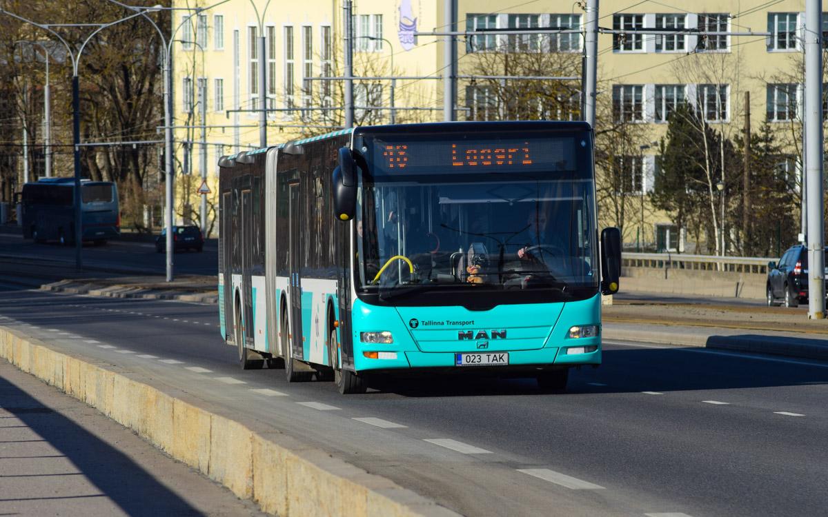 Tallinn, MAN A40 Lion's City GL NG323 № 1023
