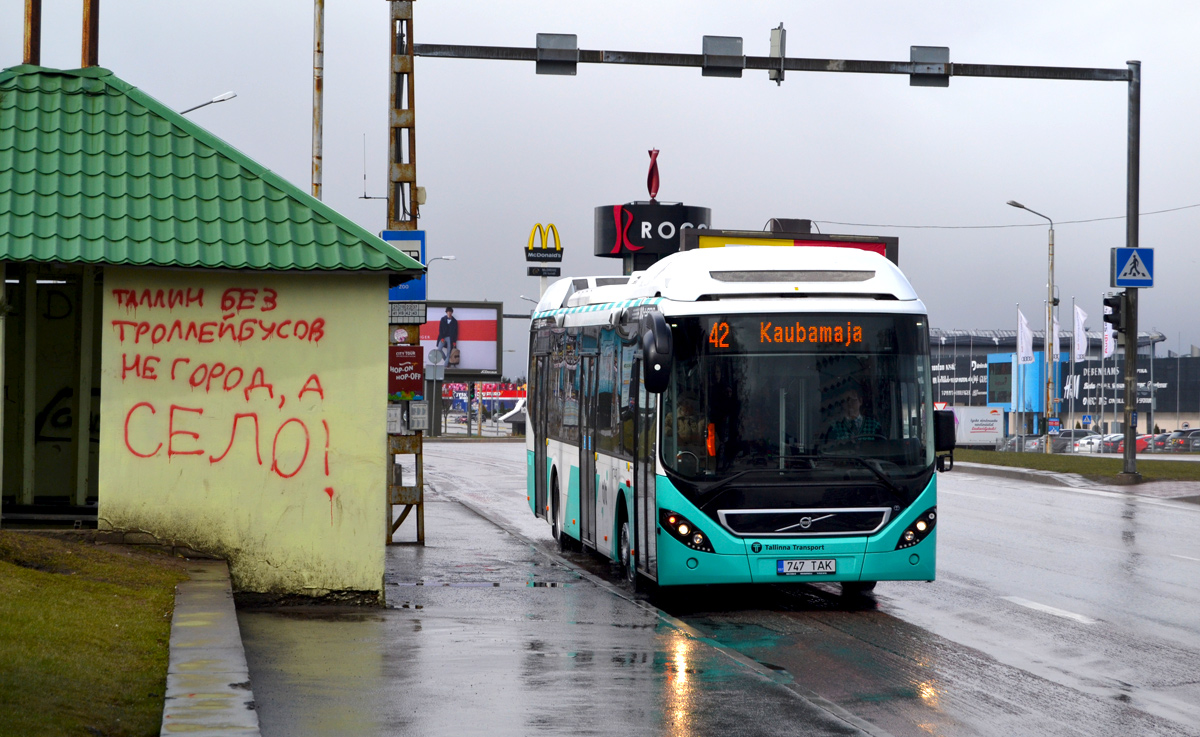 Tallinn, Volvo 7900 Hybrid № 1747