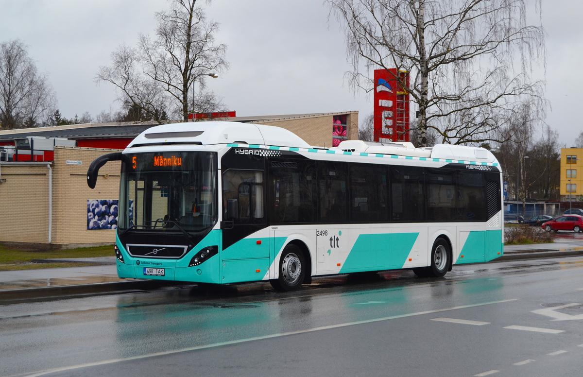 Tallinn, Volvo 7900 Hybrid № 2498
