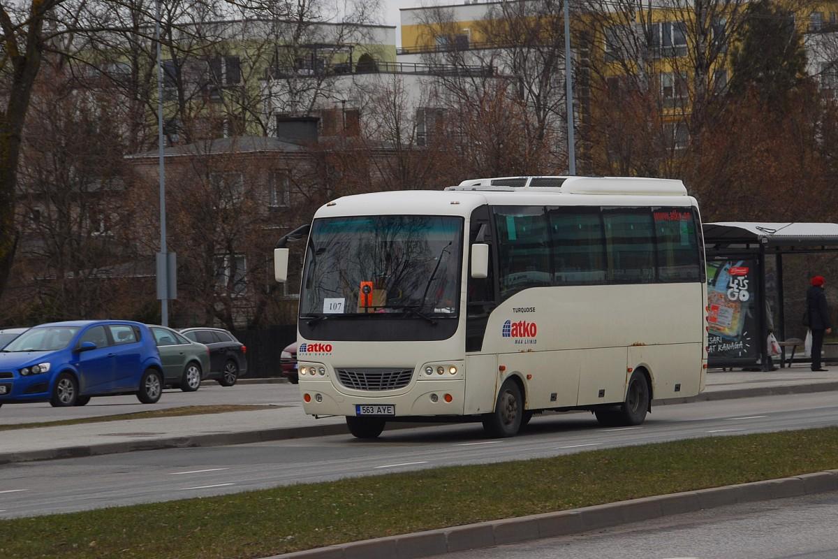 Tallinn, Isuzu Turquoise № 563 AYE