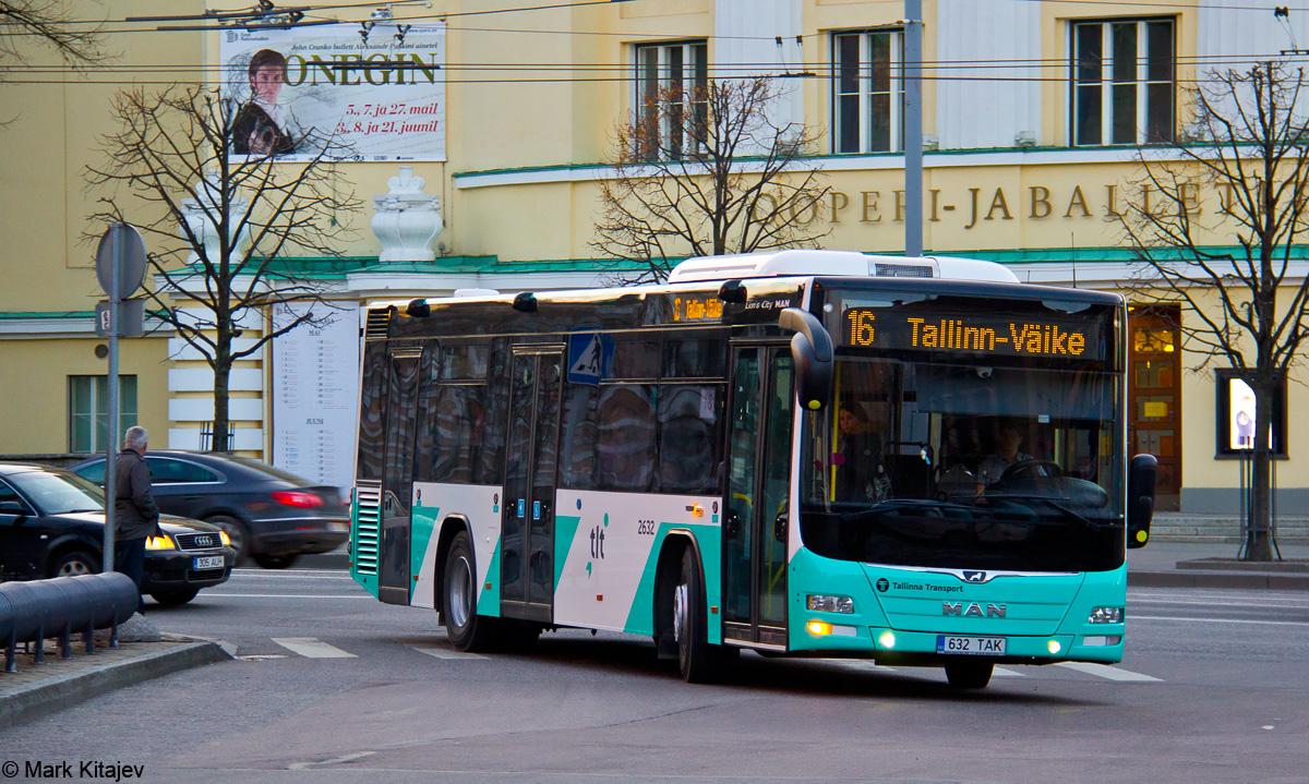 Tallinn, MAN A78 Lion's City LE № 2632