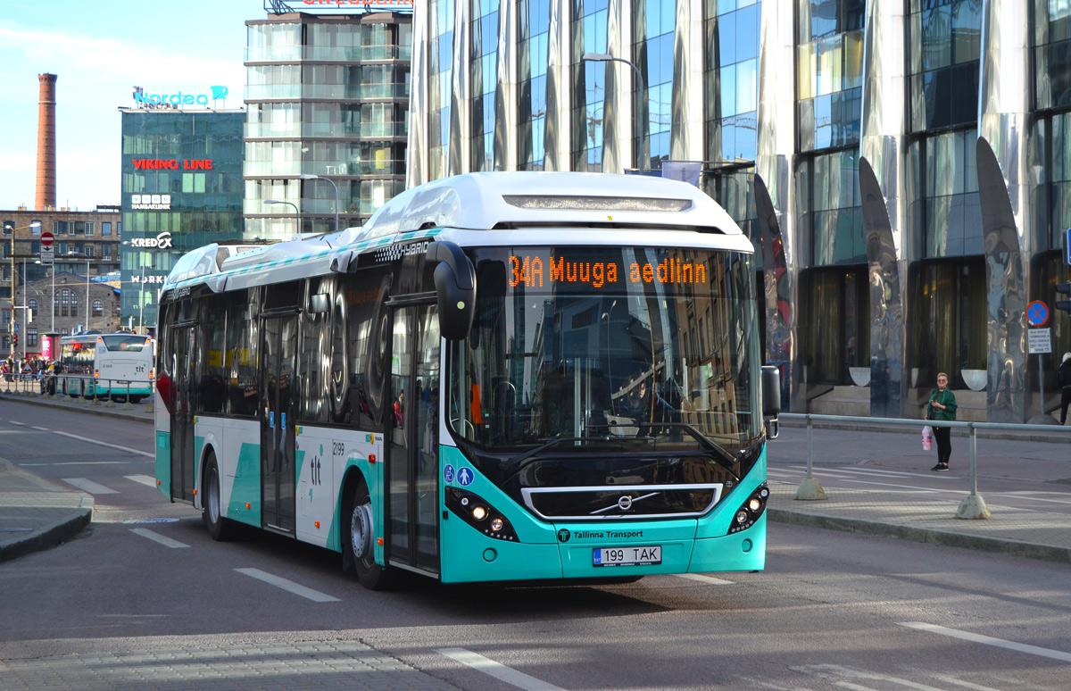 Tallinn, Volvo 7900 Hybrid № 2199
