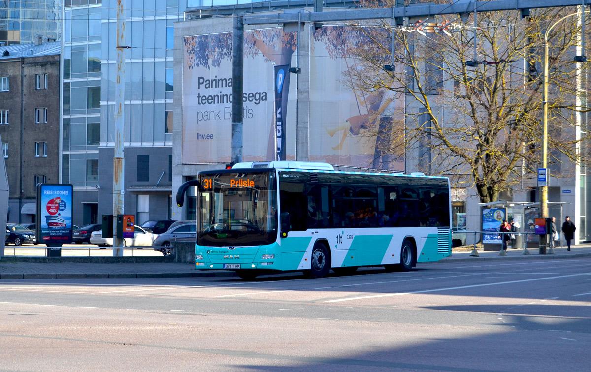 Tallinn, MAN A78 Lion's City LE № 3378
