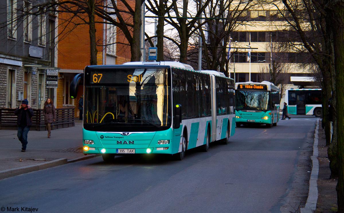 Tallinn, MAN A40 Lion's City GL NG323 № 3395