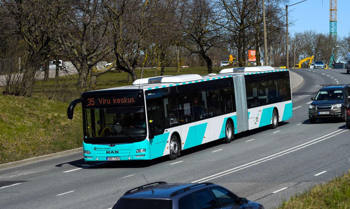 MAN Lion's City GL A40 Tallinn New Design