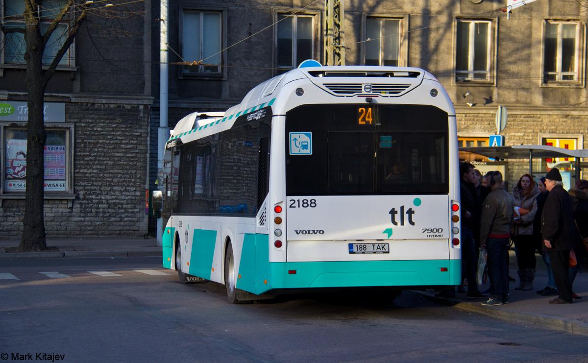 Tallinn, Volvo 7900 Hybrid № 2188