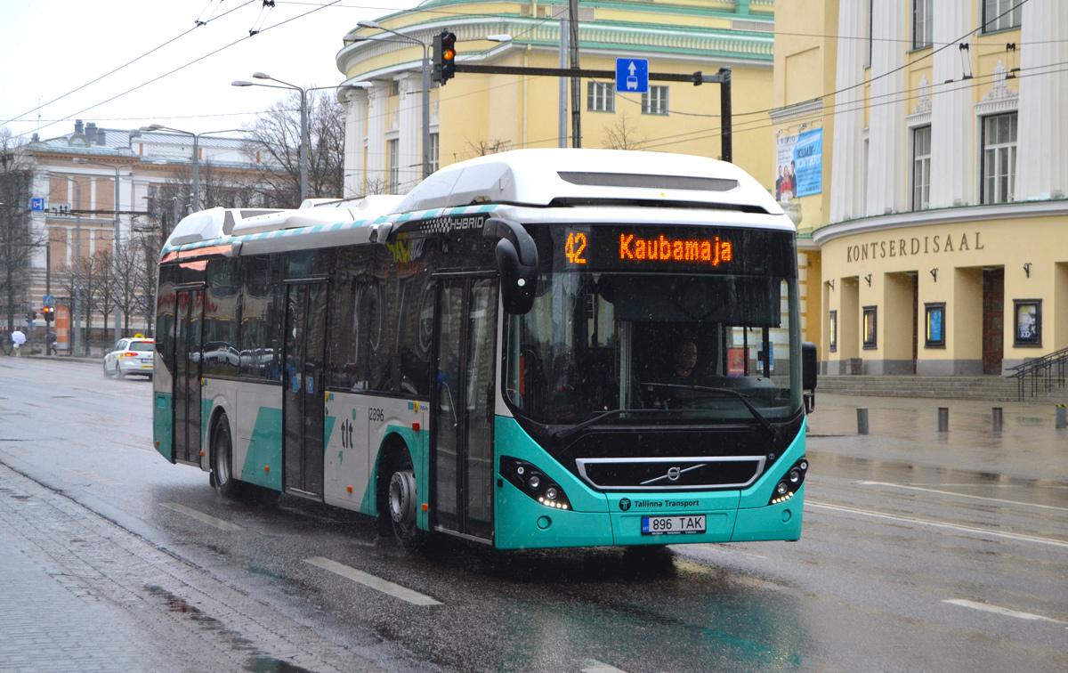 Tallinn, Volvo 7900 Hybrid № 2896