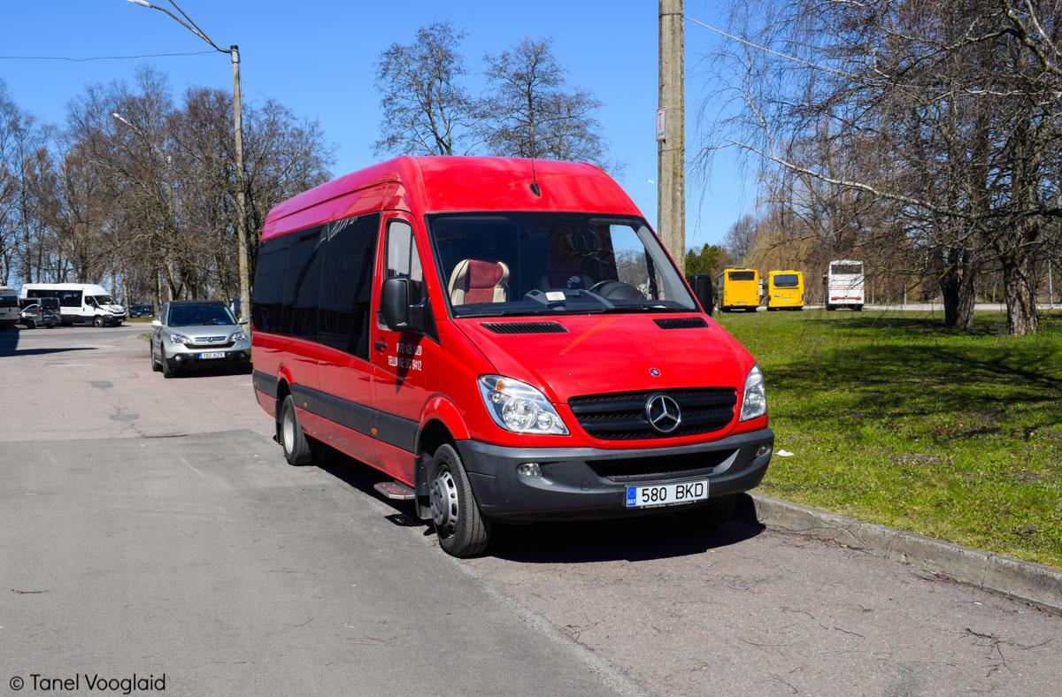 Viljandi, Mercedes-Benz Sprinter 518CDI № 580 BKD