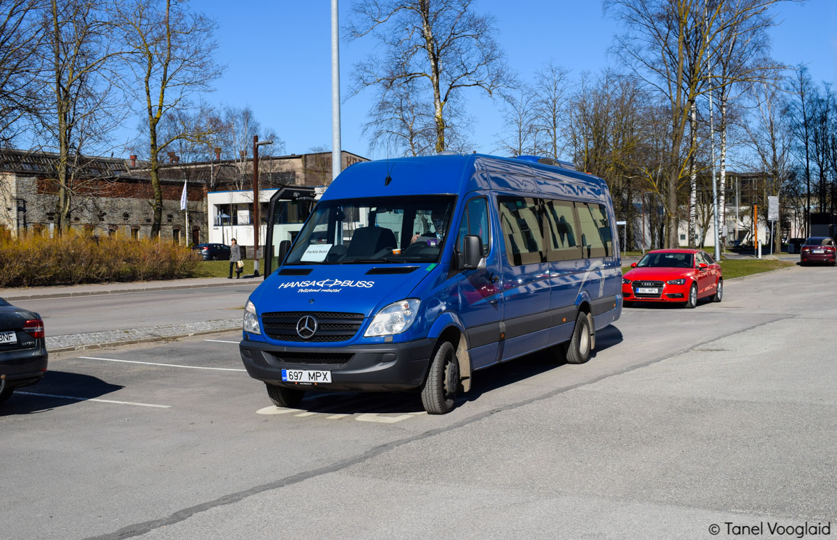 Tallinn, Mercedes-Benz Sprinter Transfer 55 № 697 MPX