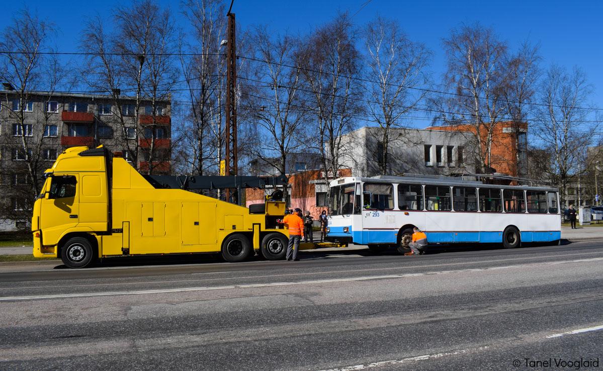 Tallinn — 9. trolliliini sulgemine ning 72. liini avamine
