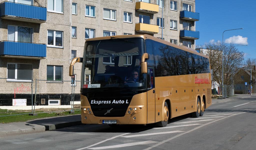 Kohtla-Järve, Volvo 9900 № 015 BSV