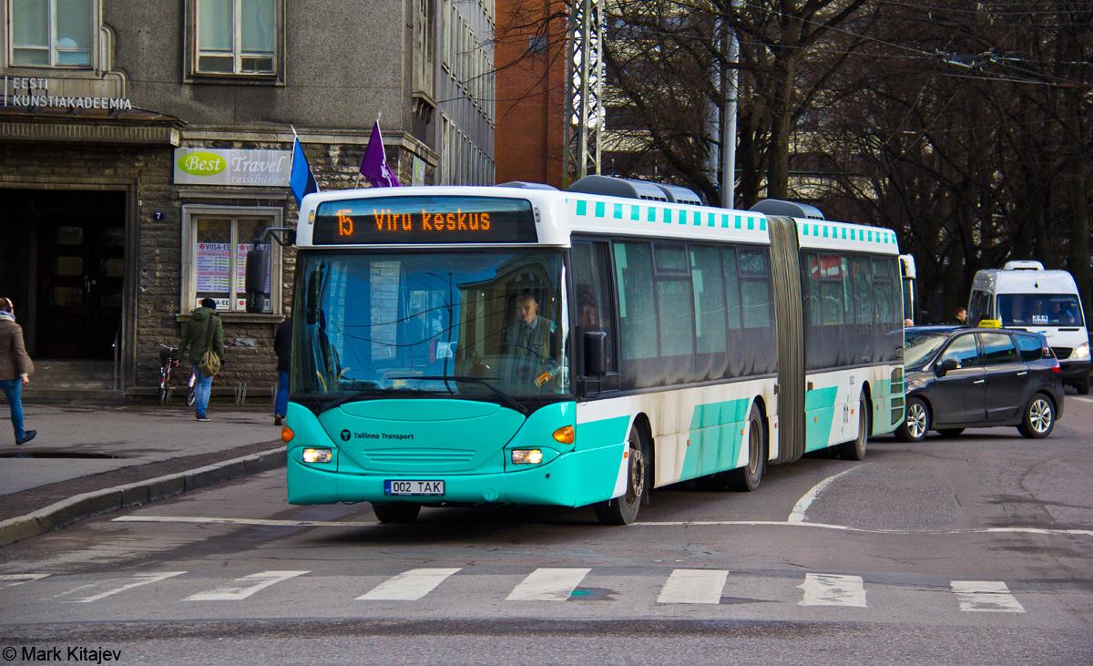 Tallinn, Scania OmniLink CL94UA 6X2LB № 1002