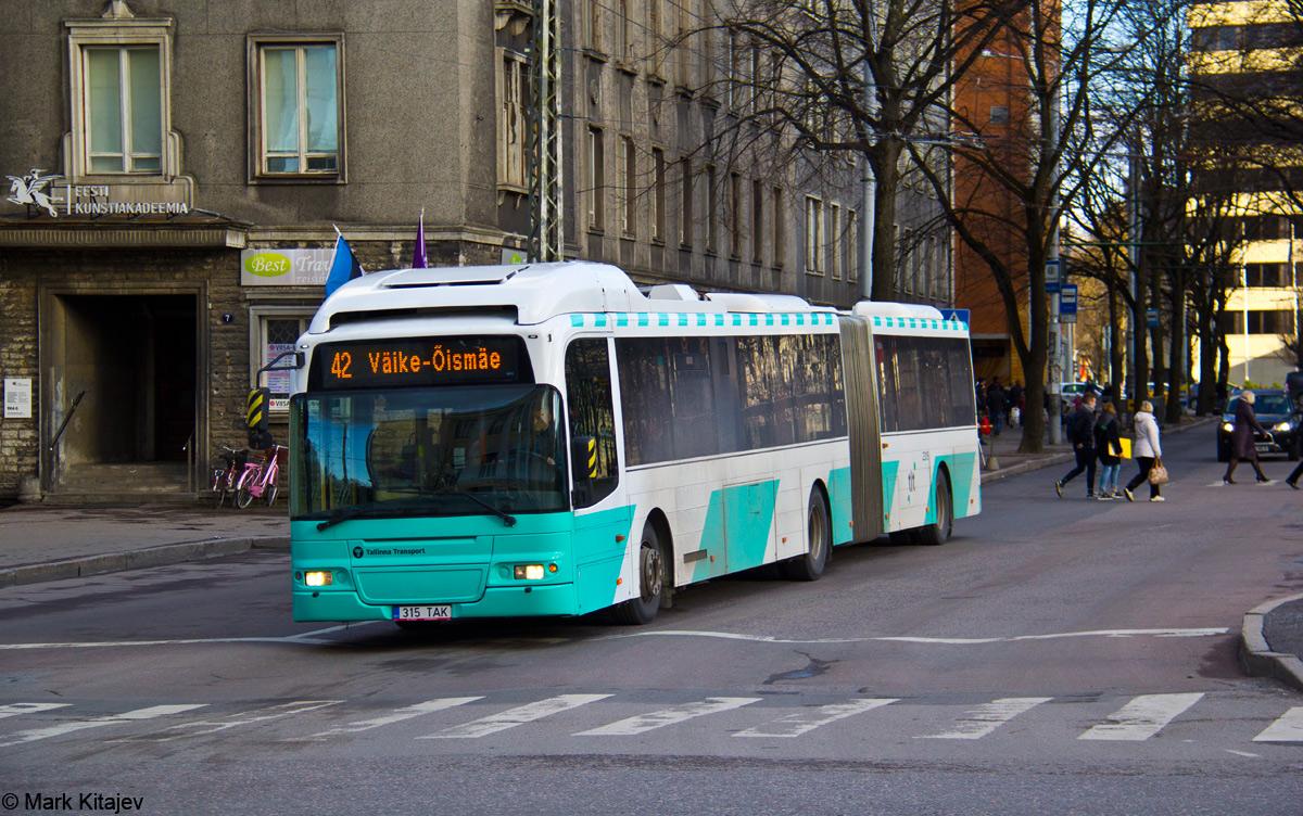 Tallinn, Volvo 7500 № 2315
