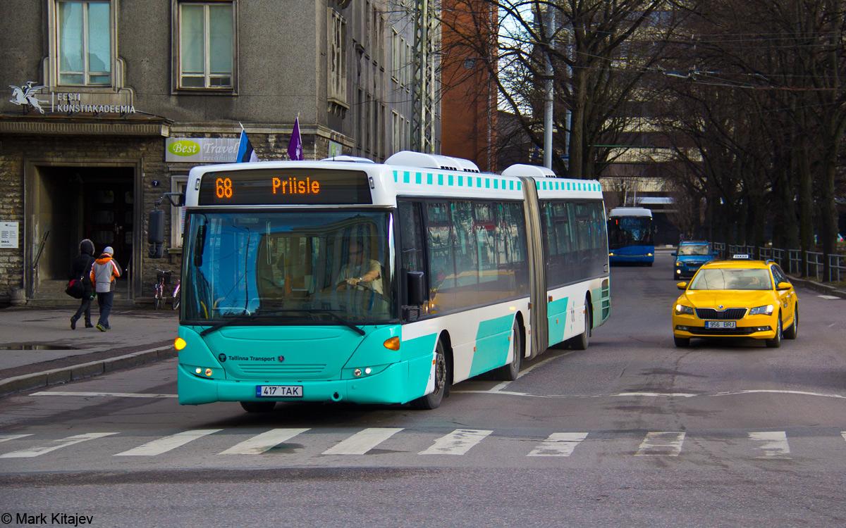 Tallinn, Scania OmniLink CK310UA 6X2LB № 3417