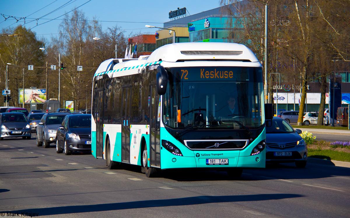 Tallinn, Volvo 7900 Hybrid № 2181