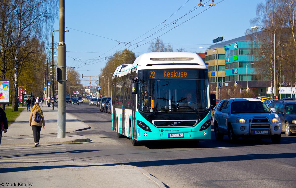 Tallinn, Volvo 7900 Hybrid № 1170