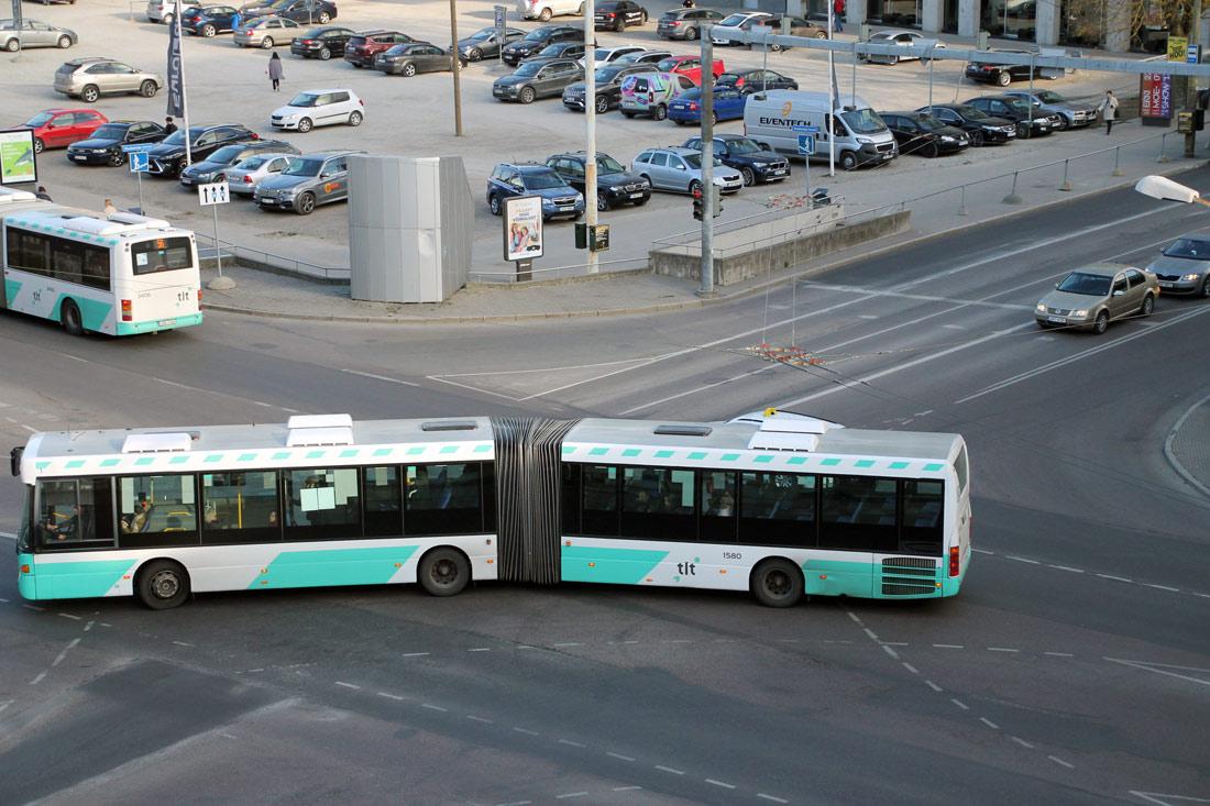 Tallinn, Scania OmniLink CL94UA 6X2LB № 1580