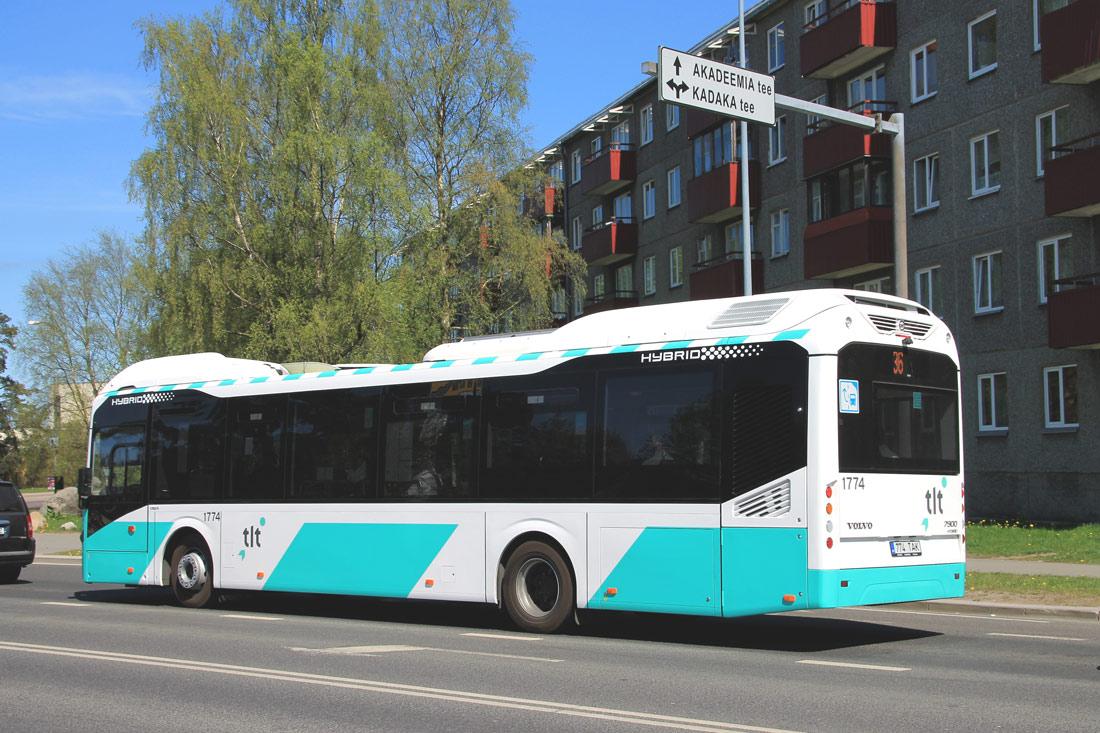 Tallinn, Volvo 7900 Hybrid № 1774