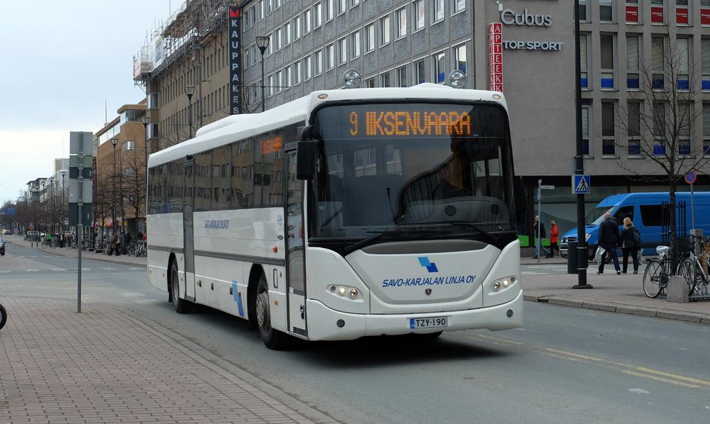 Kärdla, Scania OmniLine IK340IB № 041 TGN