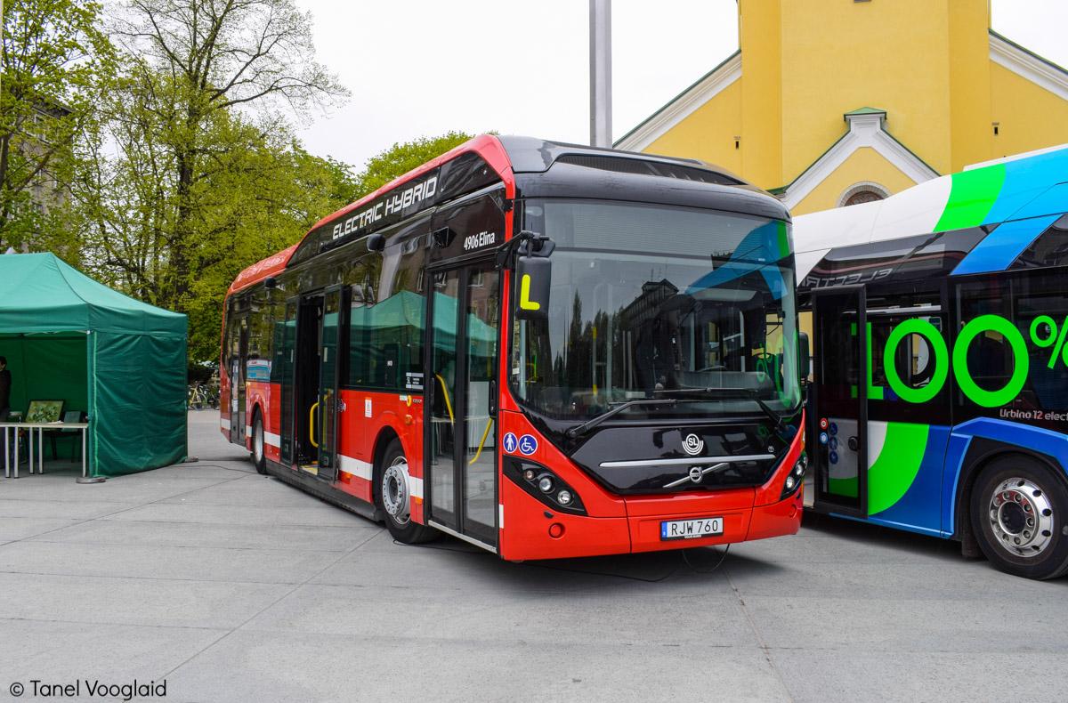 Tallinn — 95. aastapäev Tallinna bussiliikluses