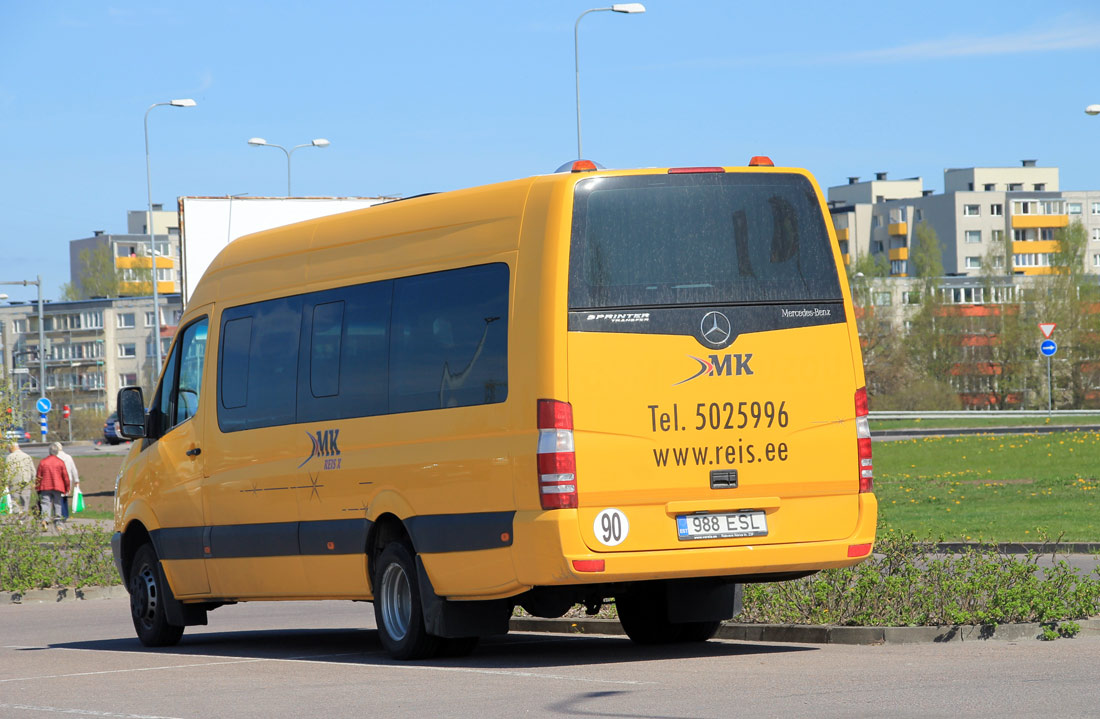 Rakvere, Mercedes-Benz Sprinter Transfer 55 № 988 ESL