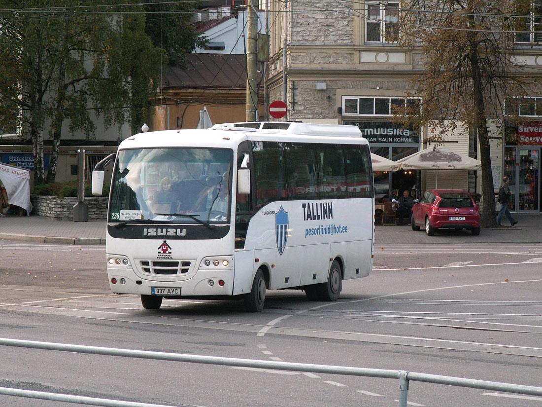 Tallinn, Isuzu Turquoise № 937 AYC