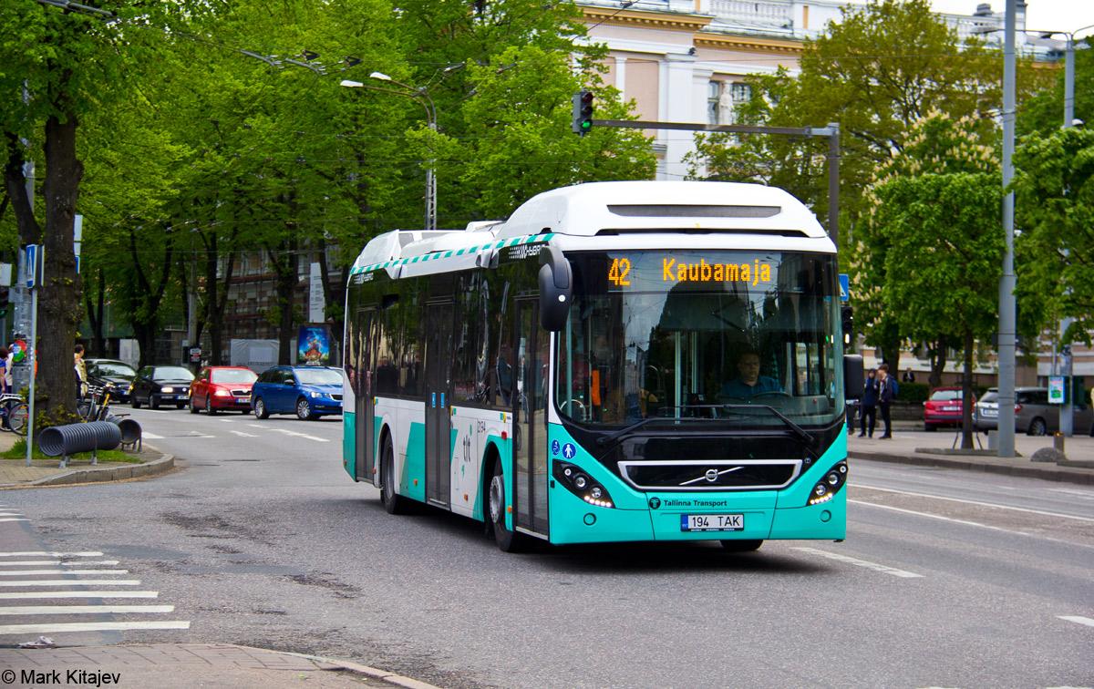 Tallinn, Volvo 7900 Hybrid № 2194