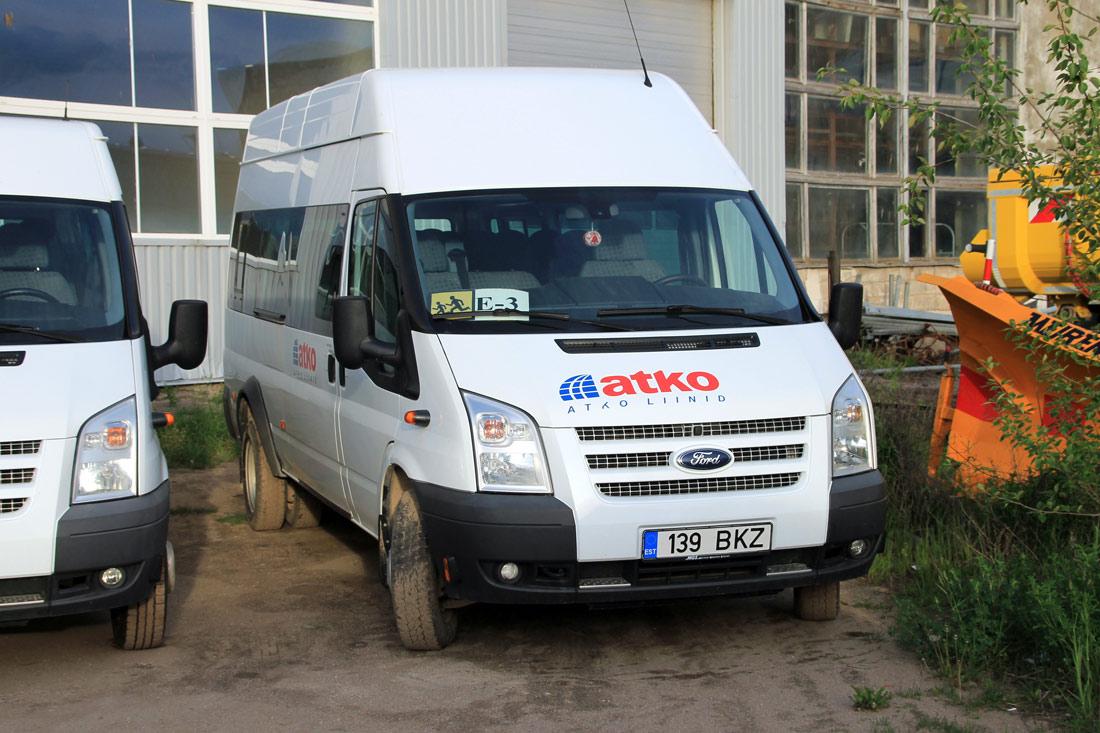 Viljandi, Ford Transit № 139 BKZ