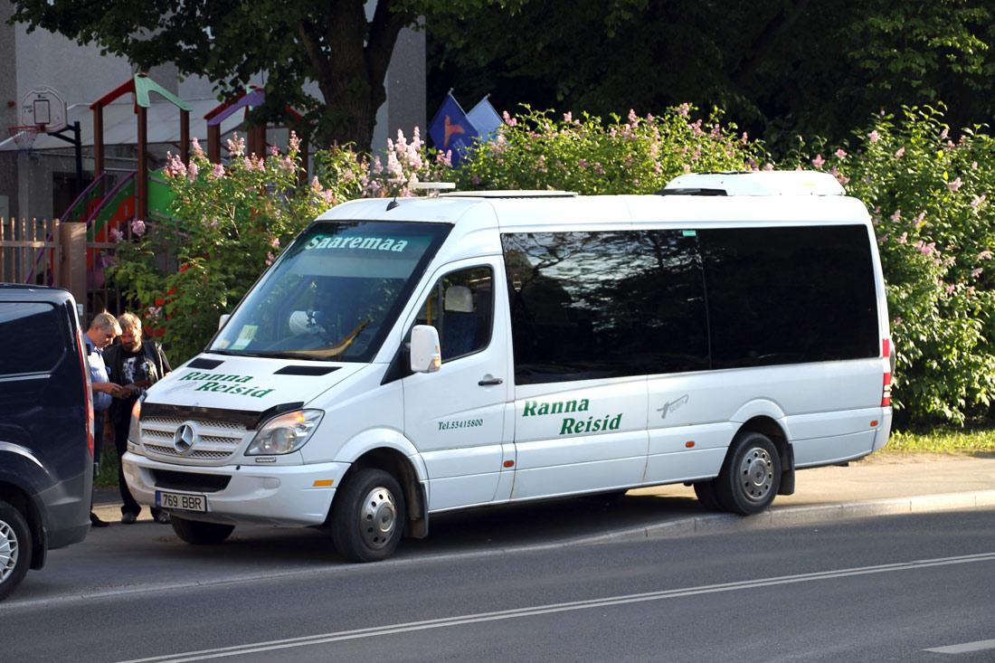 Kuressaare, Mercedes-Benz Sprinter 515CDI № 769 BBR Tallinn — XII noorte laulu- ja tantsupidu (Mina jään)