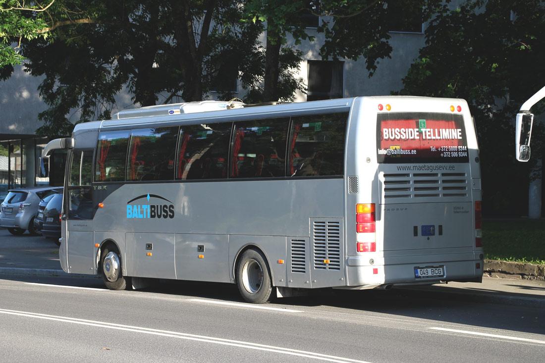 Jõhvi, BMC Probus 850-TBX № 049 BCG Tallinn — XII noorte laulu- ja tantsupidu