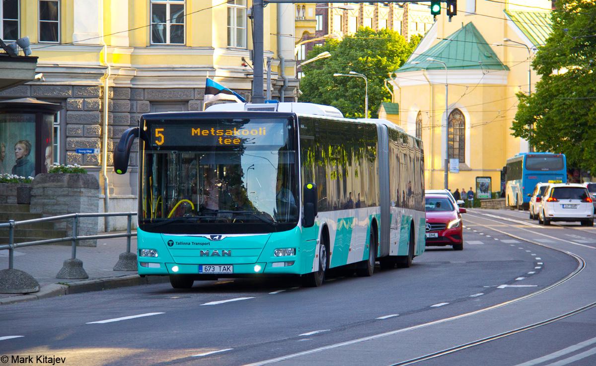 Tallinn, MAN A40 Lion's City GL NG323 № 2673