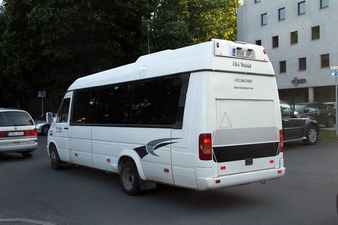 Jõhvi, Volkswagen LT46 № 658 BPJ Tallinn — XII noorte laulu- ja tantsupidu