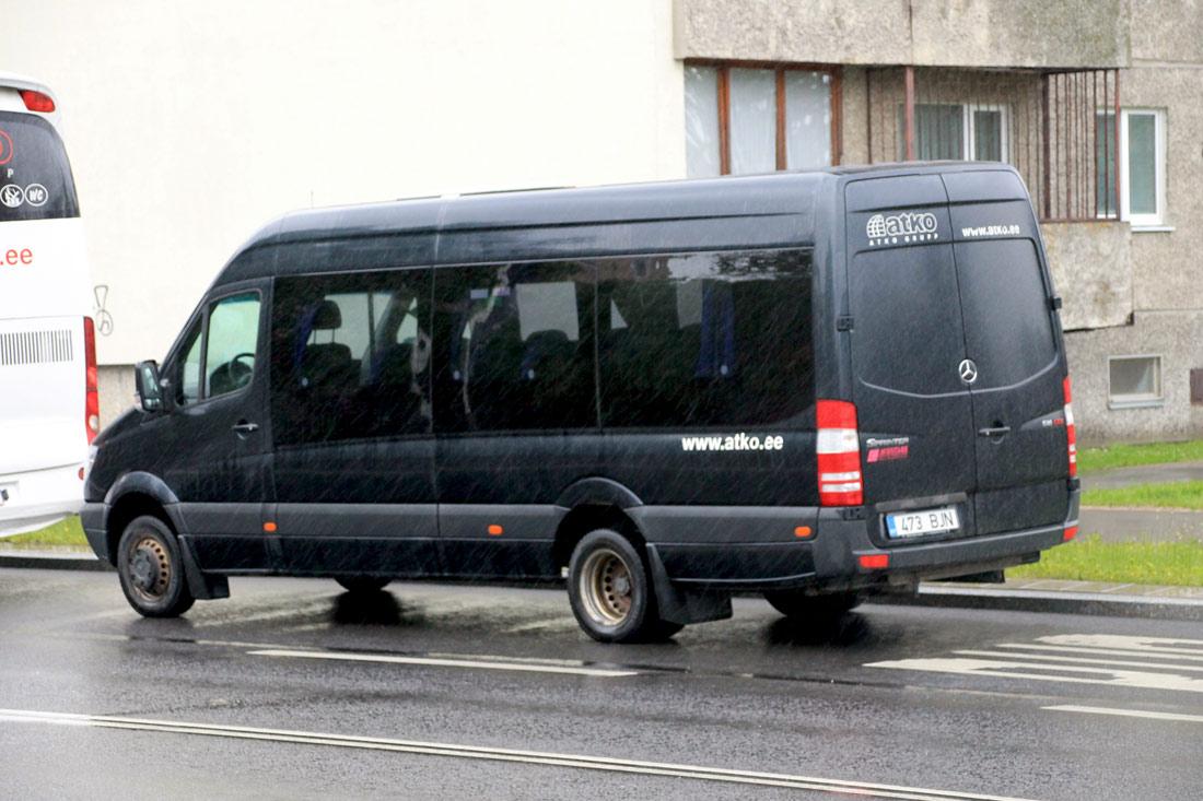 Valga, Mercedes-Benz Sprinter 516CDI № 473 BJN Tallinn — XII noorte laulu- ja tantsupidu (Mina jään)