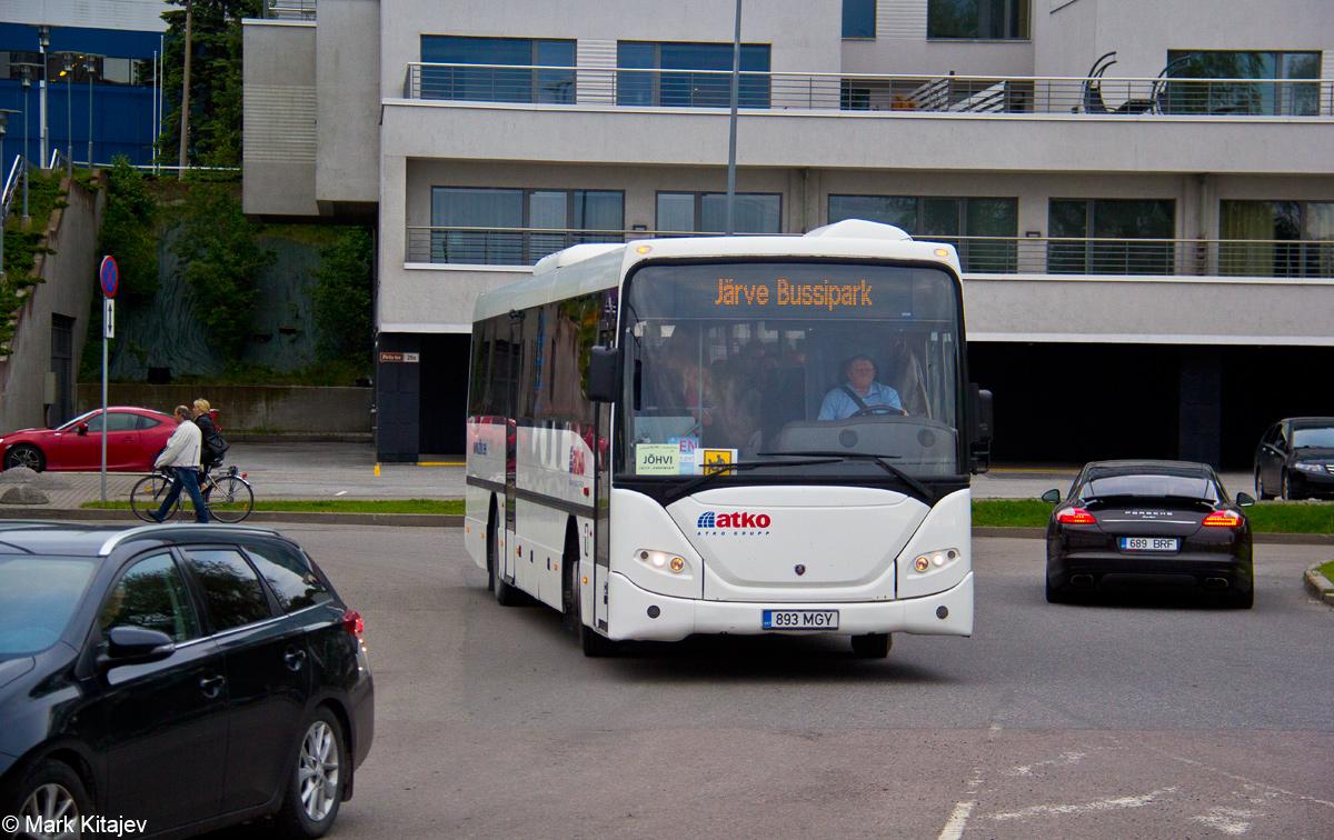 Kohtla-Järve, Scania OmniLine IK310IB № 893 MGY Tallinn — XII noorte laulu- ja tantsupidu (Mina jään)
