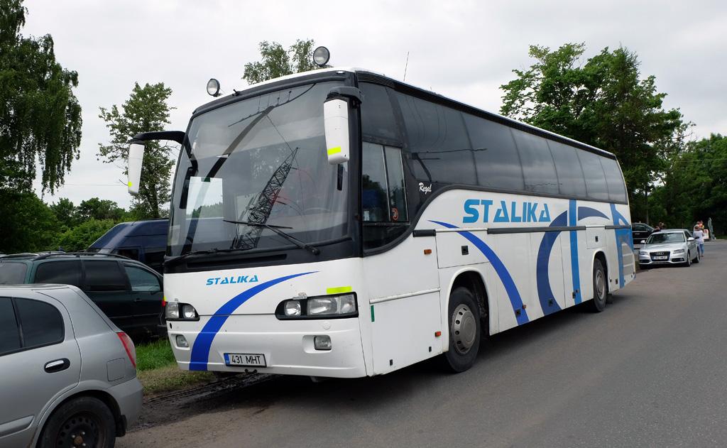 Sillamäe, Carrus Regal 350 № 431 MHT Tallinn — XII noorte laulu- ja tantsupidu (Mina jään)