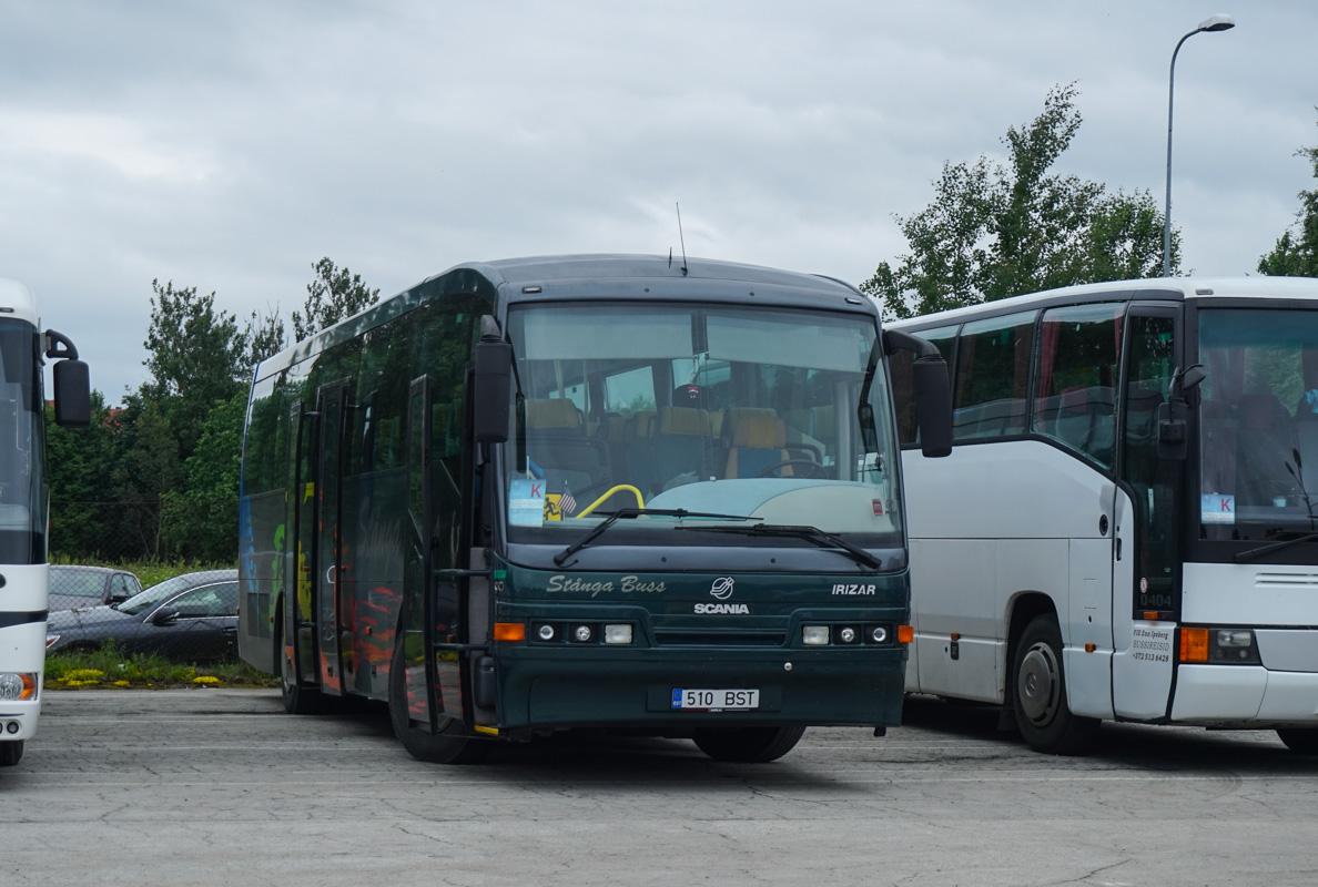 Jõhvi, Irízar InterCentury  № 510 BST Tallinn — XII noorte laulu- ja tantsupidu (Mina jään)