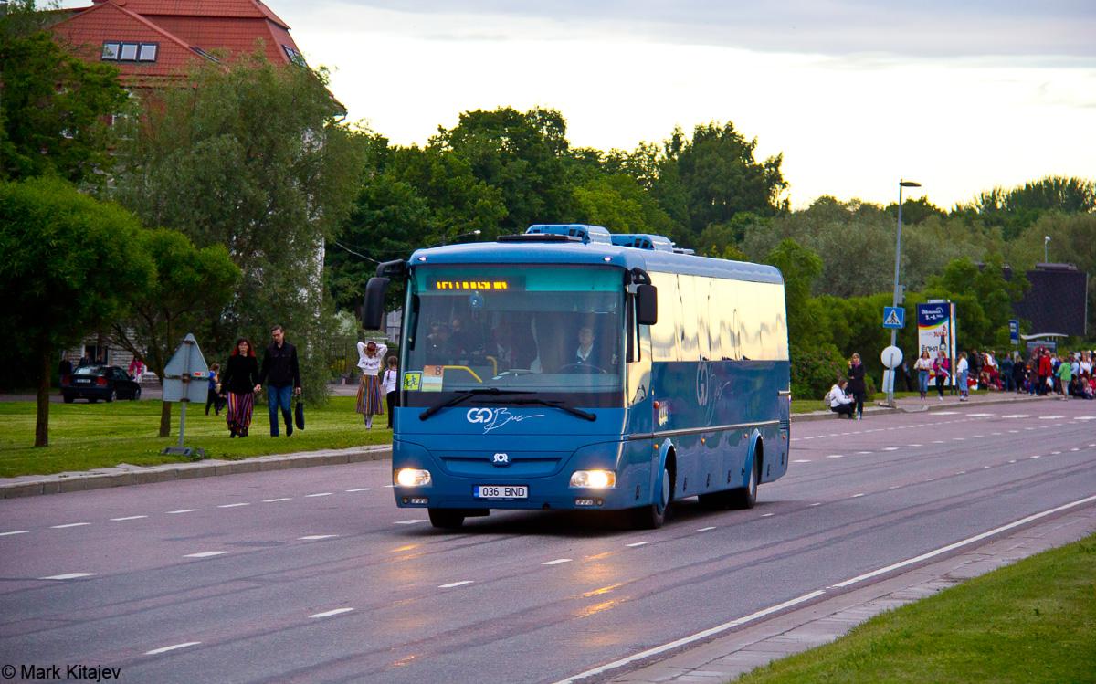 Tartu, SOR C 12 № 036 BND Tallinn — XII noorte laulu- ja tantsupidu (Mina jään)