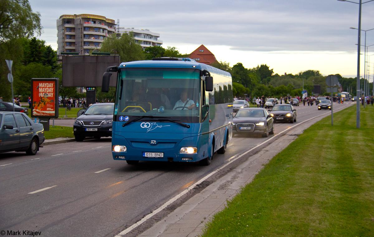 Tartu, SOR C 9.5 № 015 BND Tallinn — XII noorte laulu- ja tantsupidu (Mina jään)