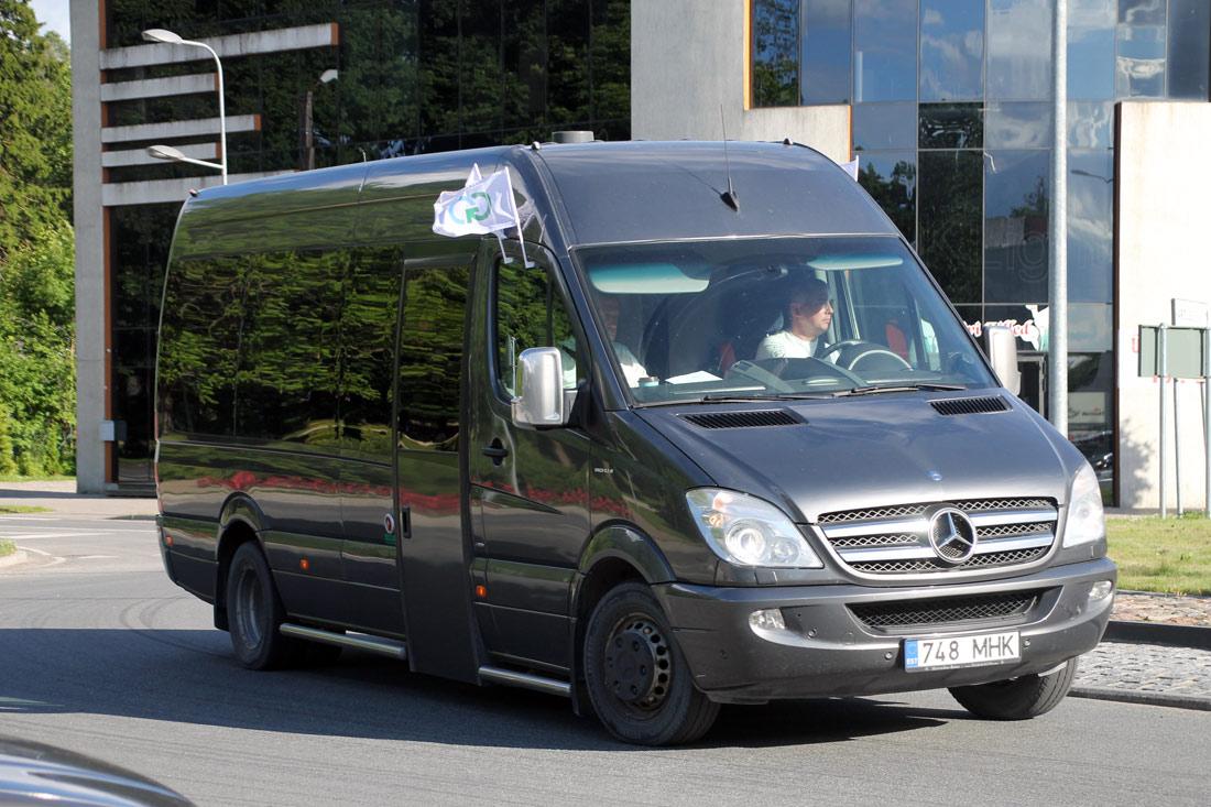 Tallinn, Mercedes-Benz Sprinter 519CDI № 748 MHK