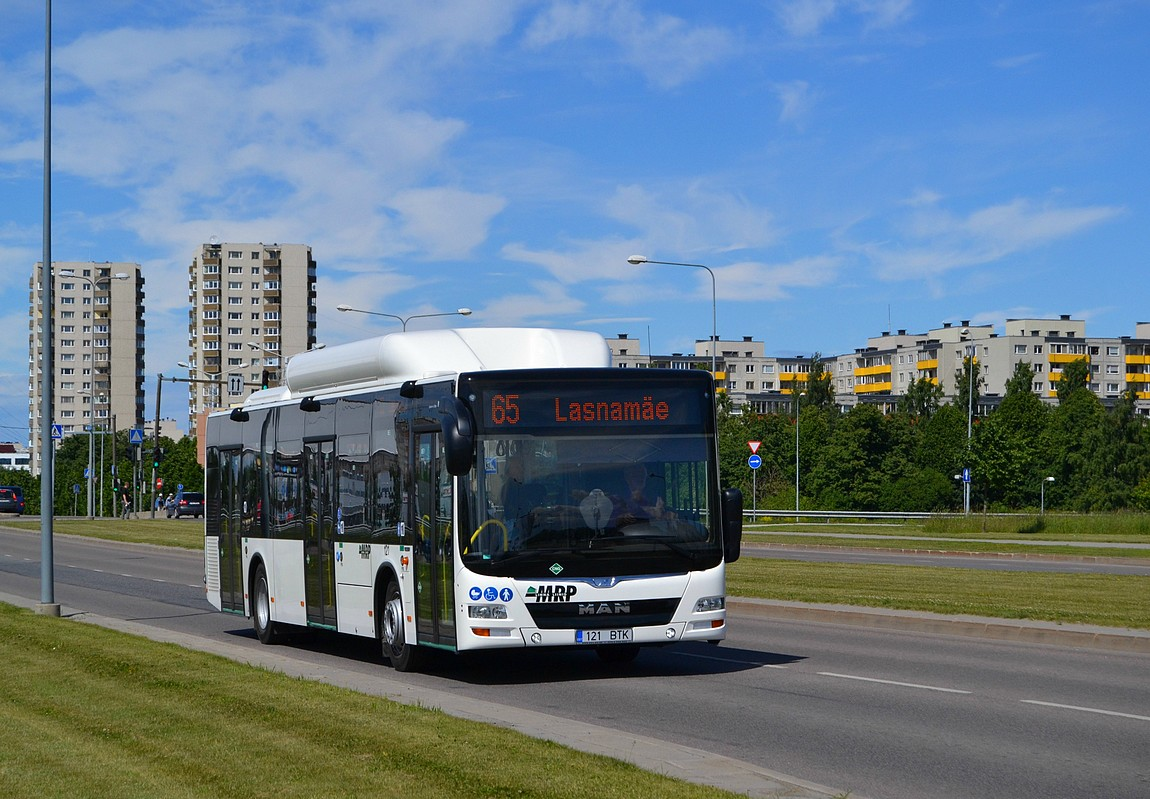 Tallinn, MAN A21 Lion's City NL313 CNG № 121