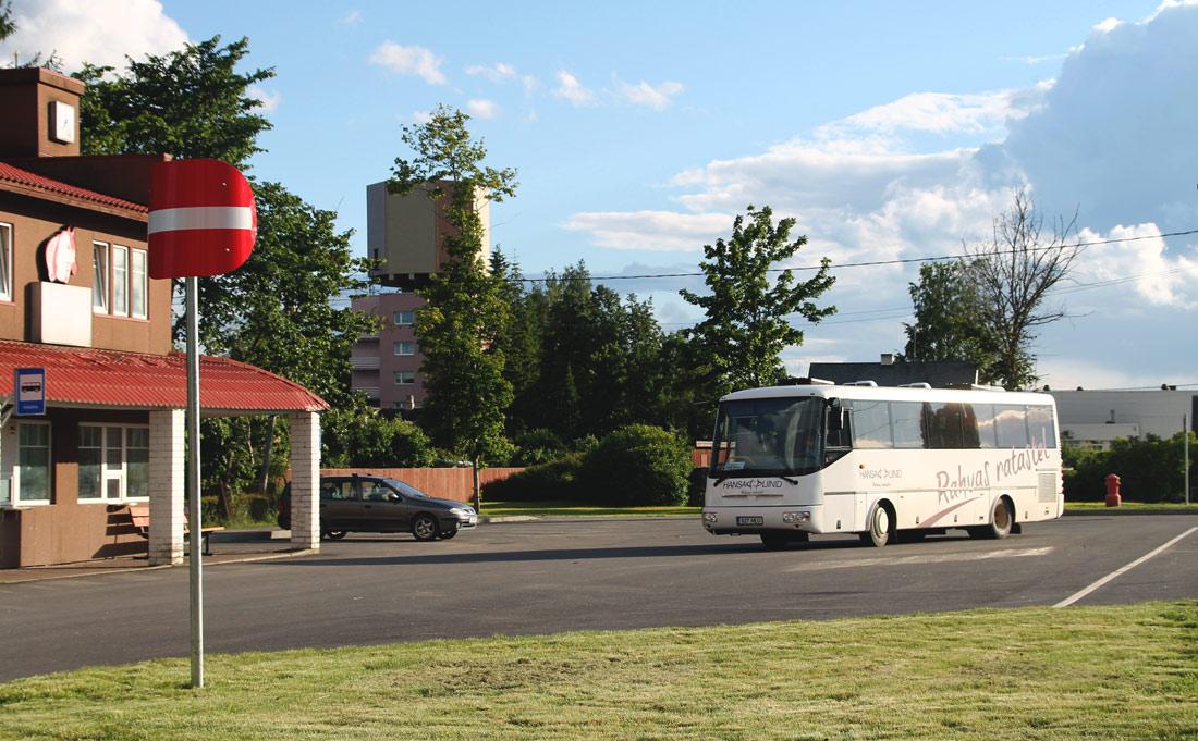 Pärnu, SOR C 9.5 № 827 MLU BUSSIJAAMAD (Vändra)