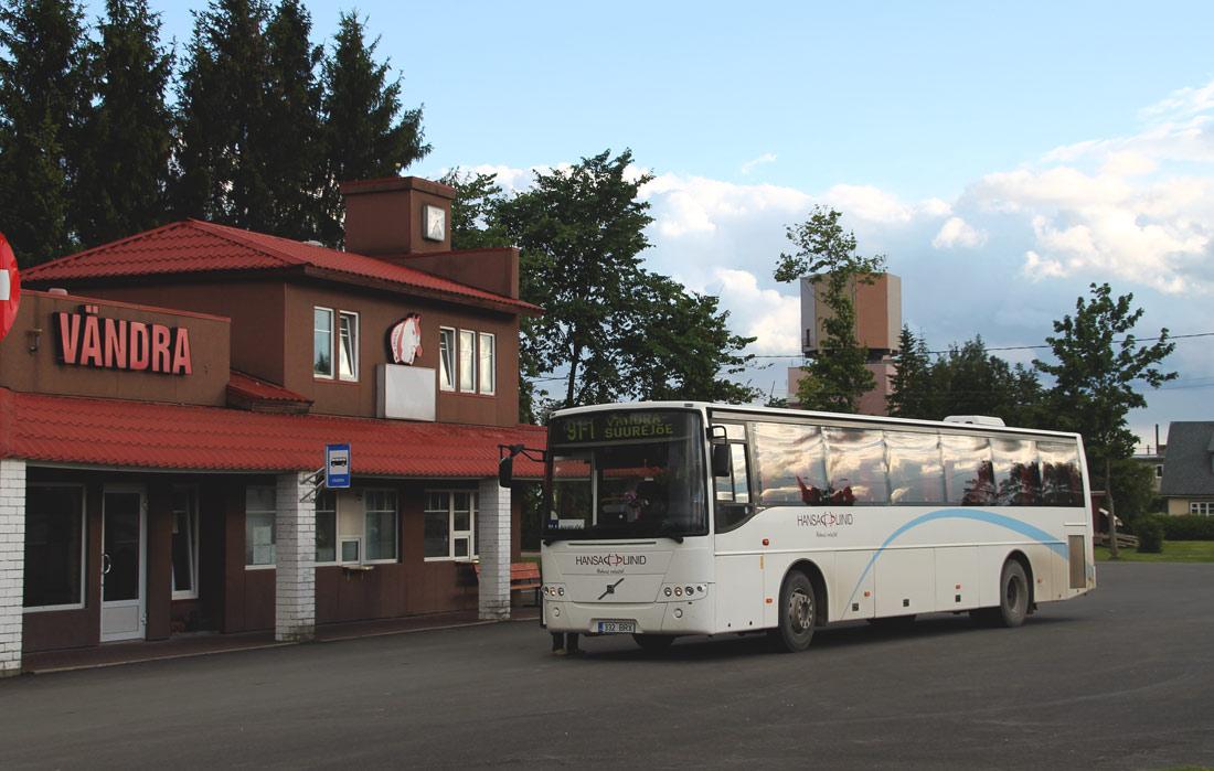 Pärnu, Volvo 8700 № 332 BRX BUSSIJAAMAD (Vändra)