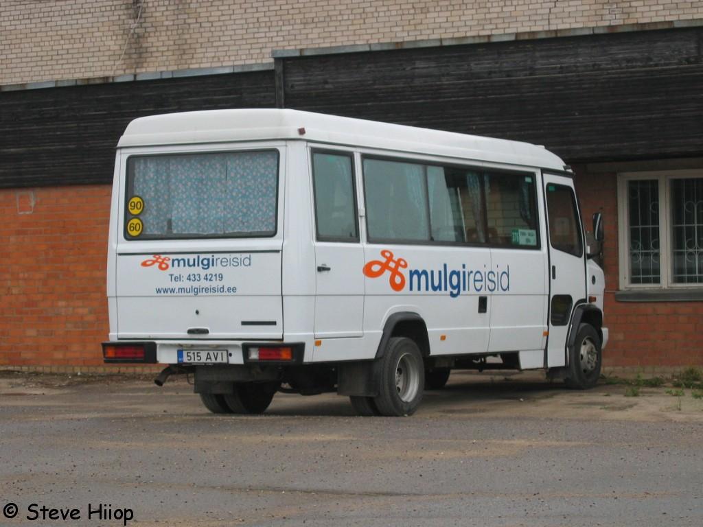 Viljandi, Mercedes-Benz T2 611D № 1302