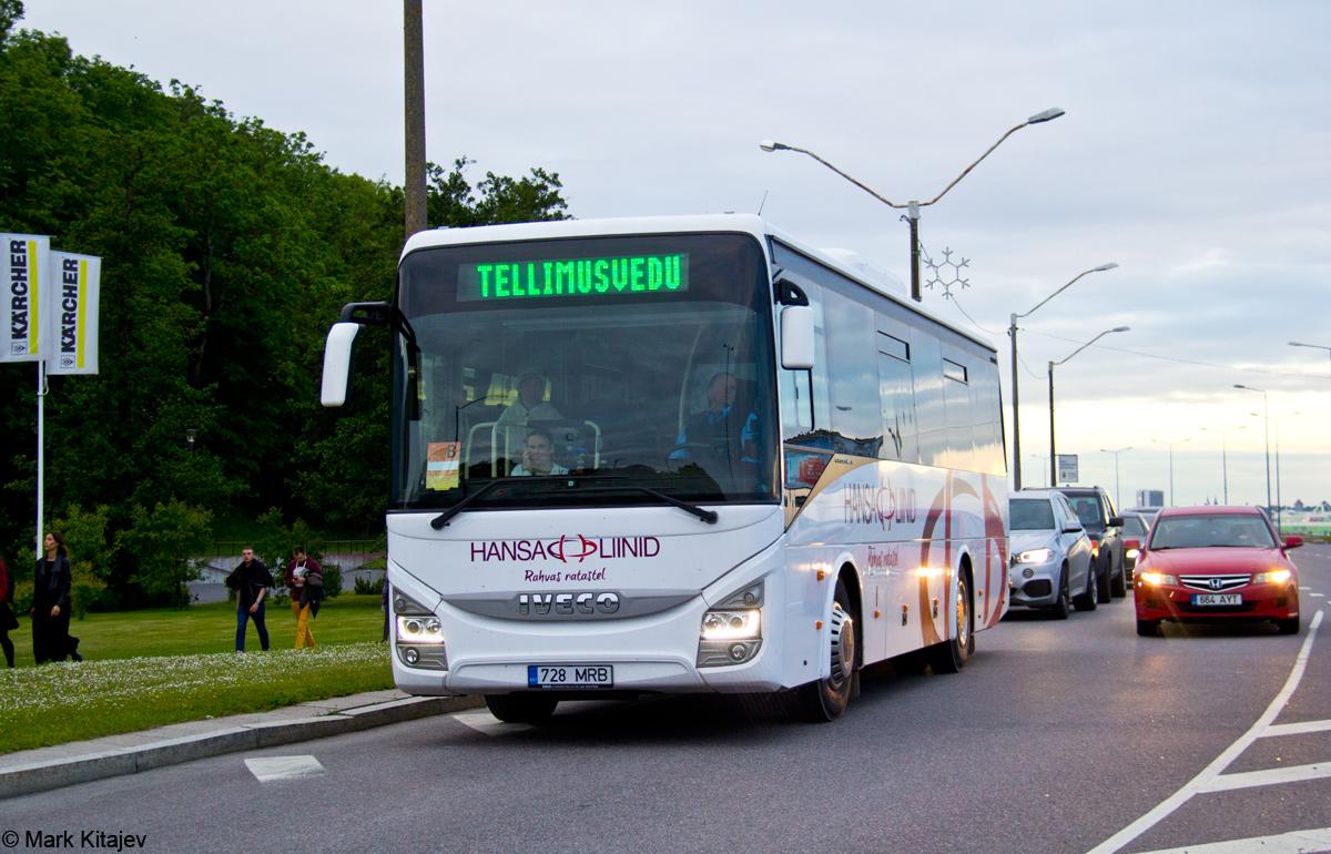 Viljandi, IVECO Crossway Line 10.8M № 728 MRB Tallinn — XII noorte laulu- ja tantsupidu (Mina jään)